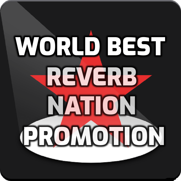 Get world best organic reverb nation music promotion
