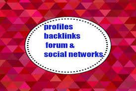 i will write 1000+ Mix profiles backlinks forum & social networks
