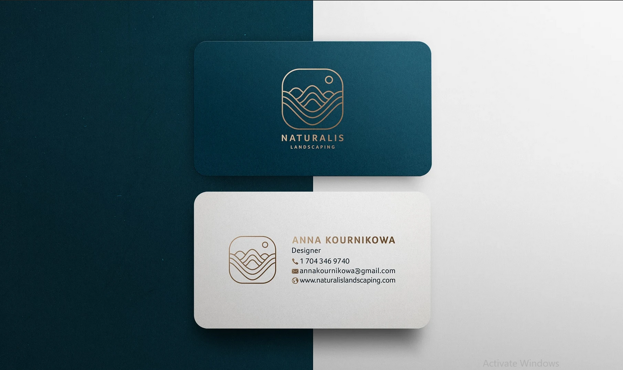 design business card, greeting cards, postcards, invitations, Flyer and letterhead