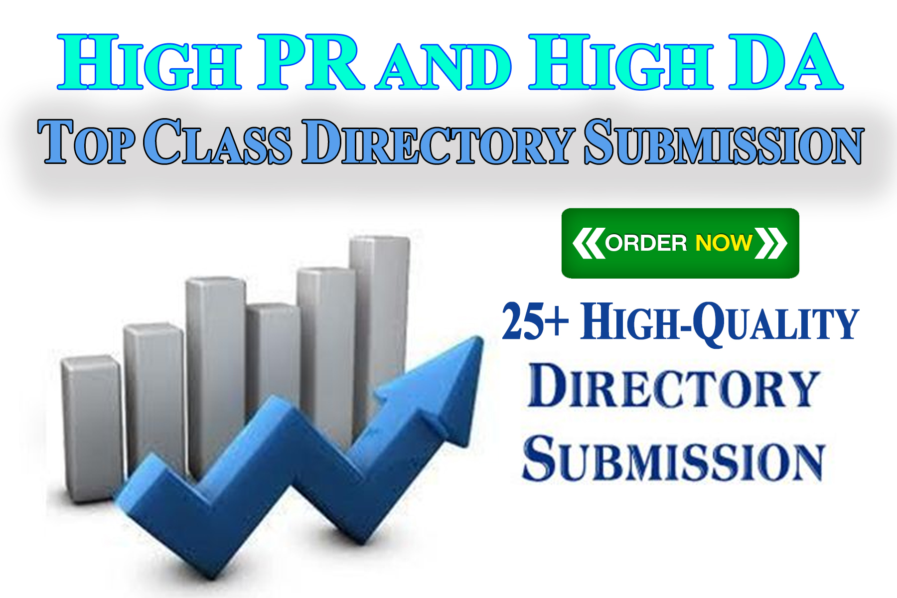 25 Fast and Best Quality Directory Submission Backlinks on HIgh PR sites