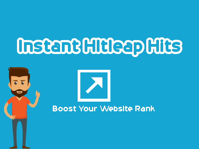 Instant Hitleap 100k to boost your website rank