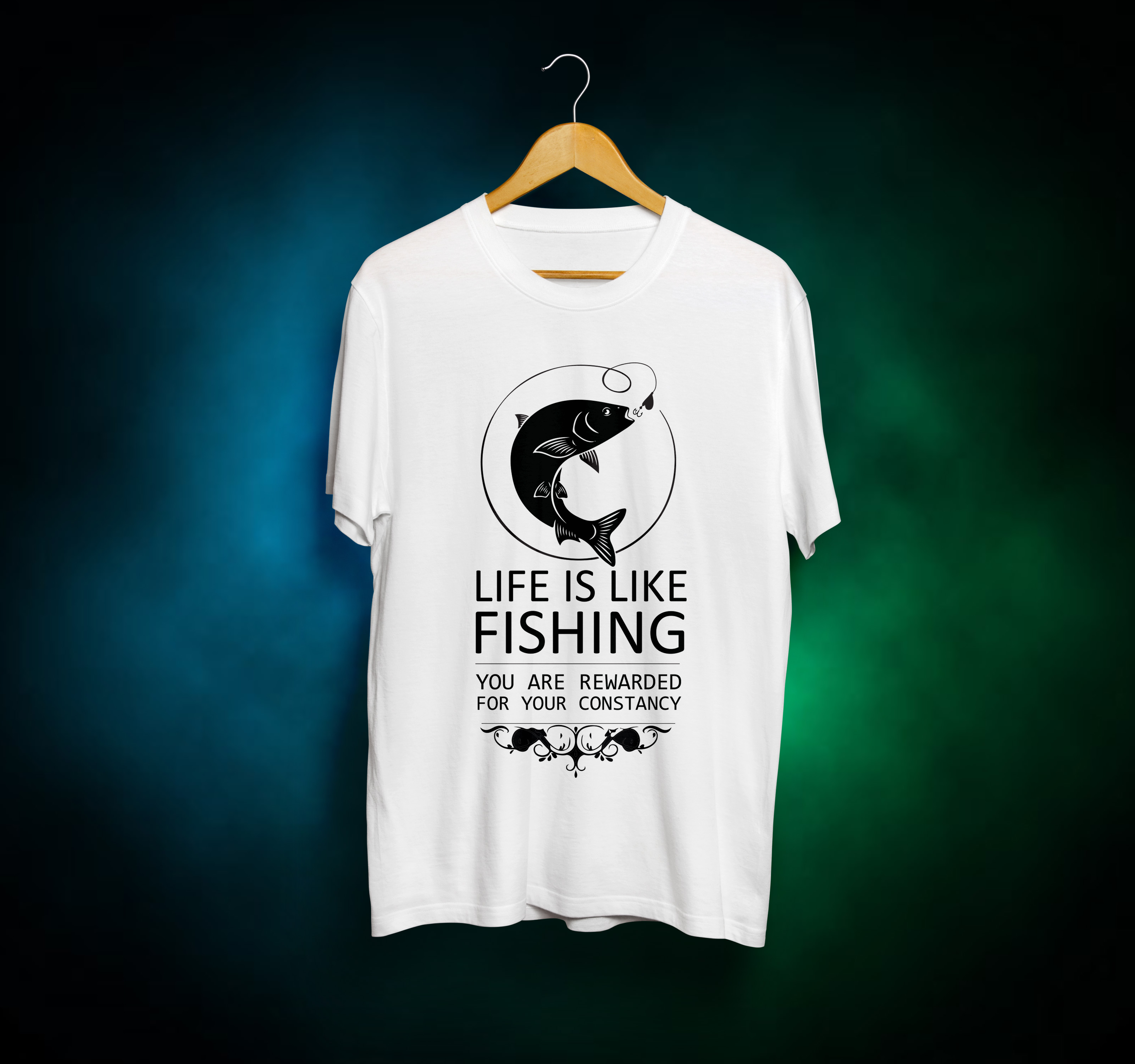 Fishing T Shirt Design Need To Hare Me