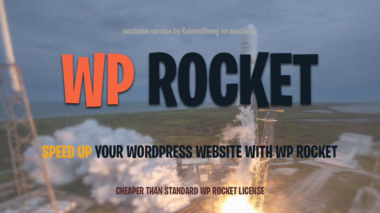 Get WpRocket For Your WordPress Website for $29 $10