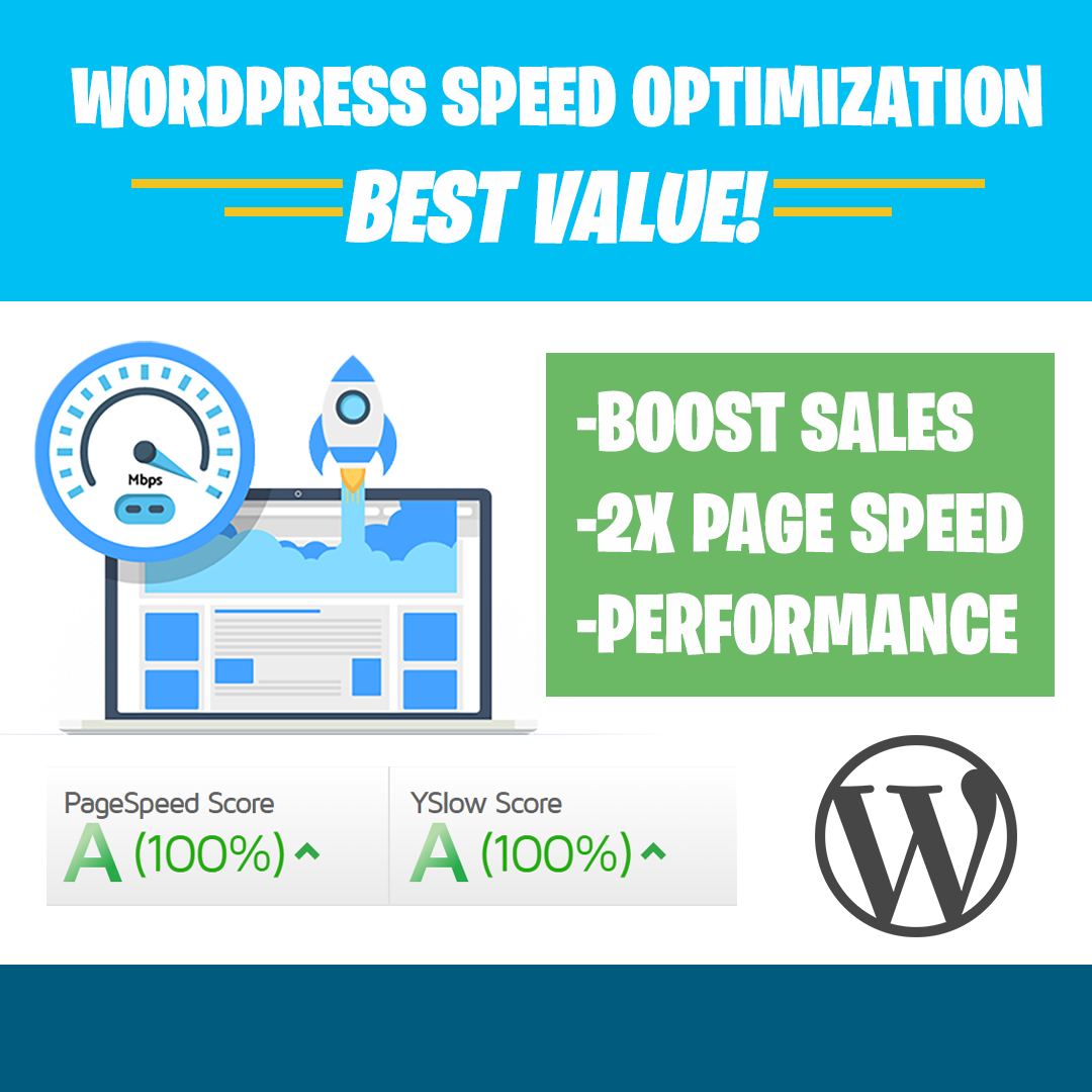 2X Your WordPress Website Speed and Boost Your Sales