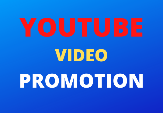 Real High Quality YouTube Video Vai promotion Markiting Super Fast