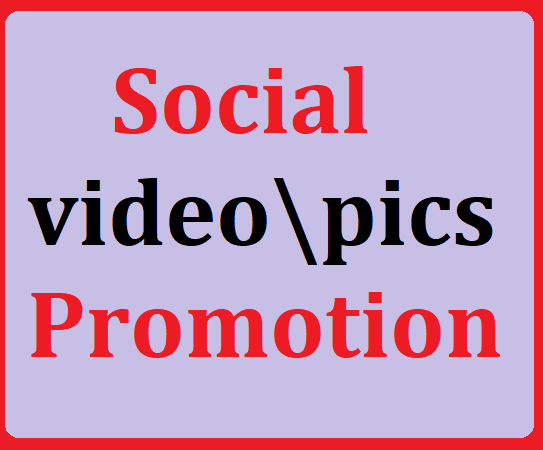Social media video promotion with Fast delivery