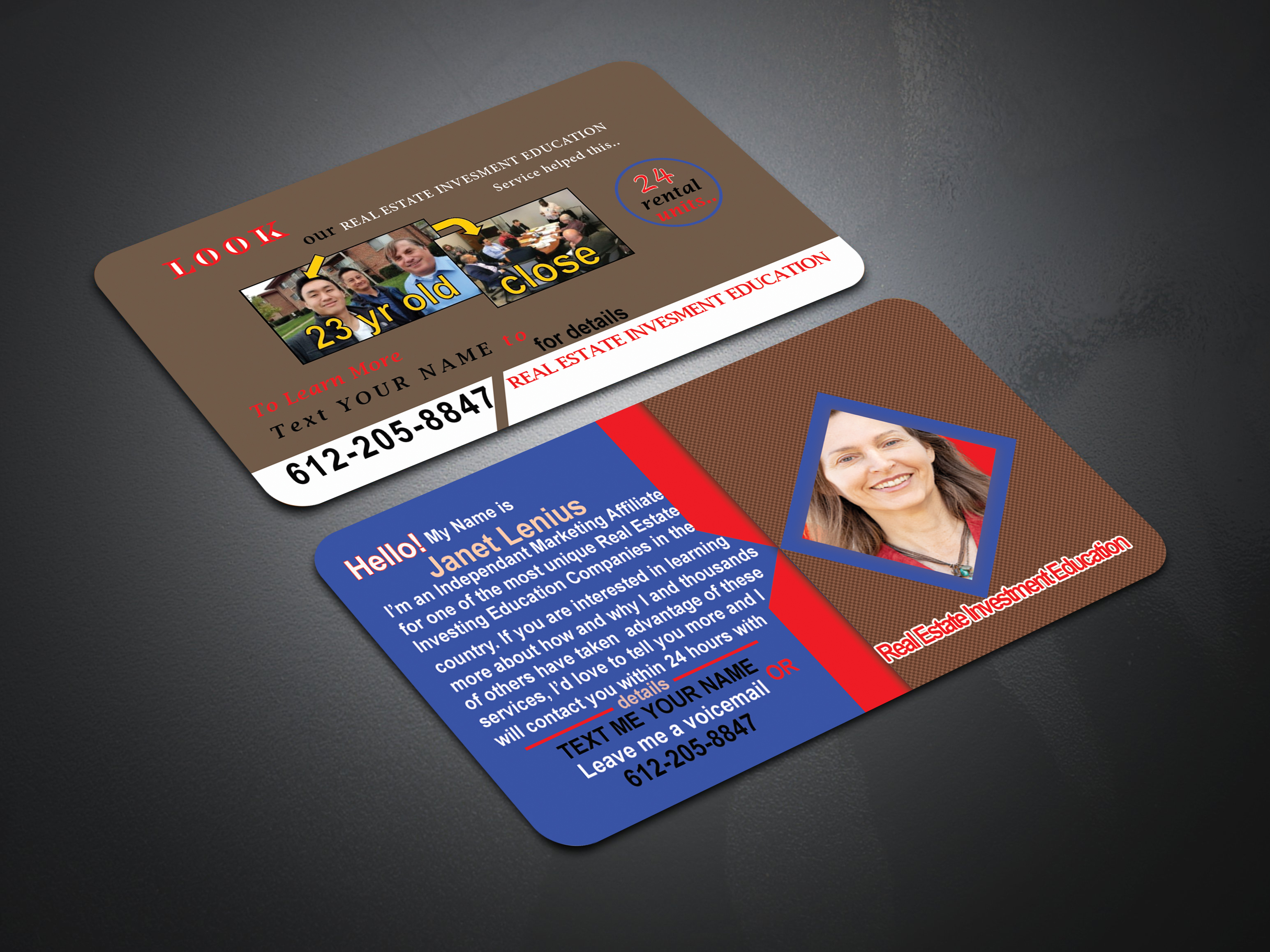 design beautiful and unique business card & Logo within 1hour delivery