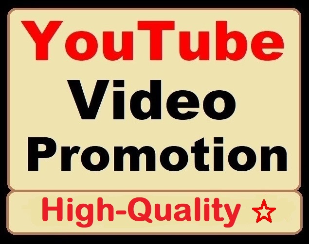 YouTube Video Organic Promotion Great Deal