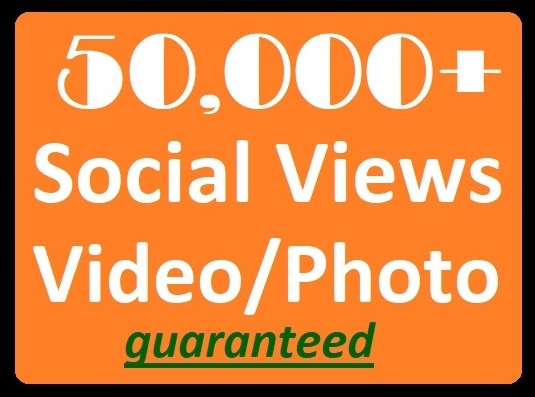 50K+ Social Videos Views High-quality Promotion faster