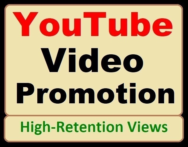 YouTube Video Marketing and SEO Promotion with genuine Visitors
