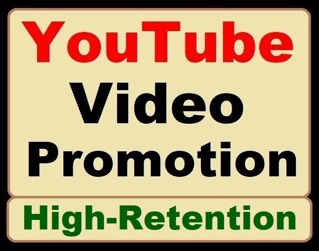 YouTube Video Organic Promotion the Best Service