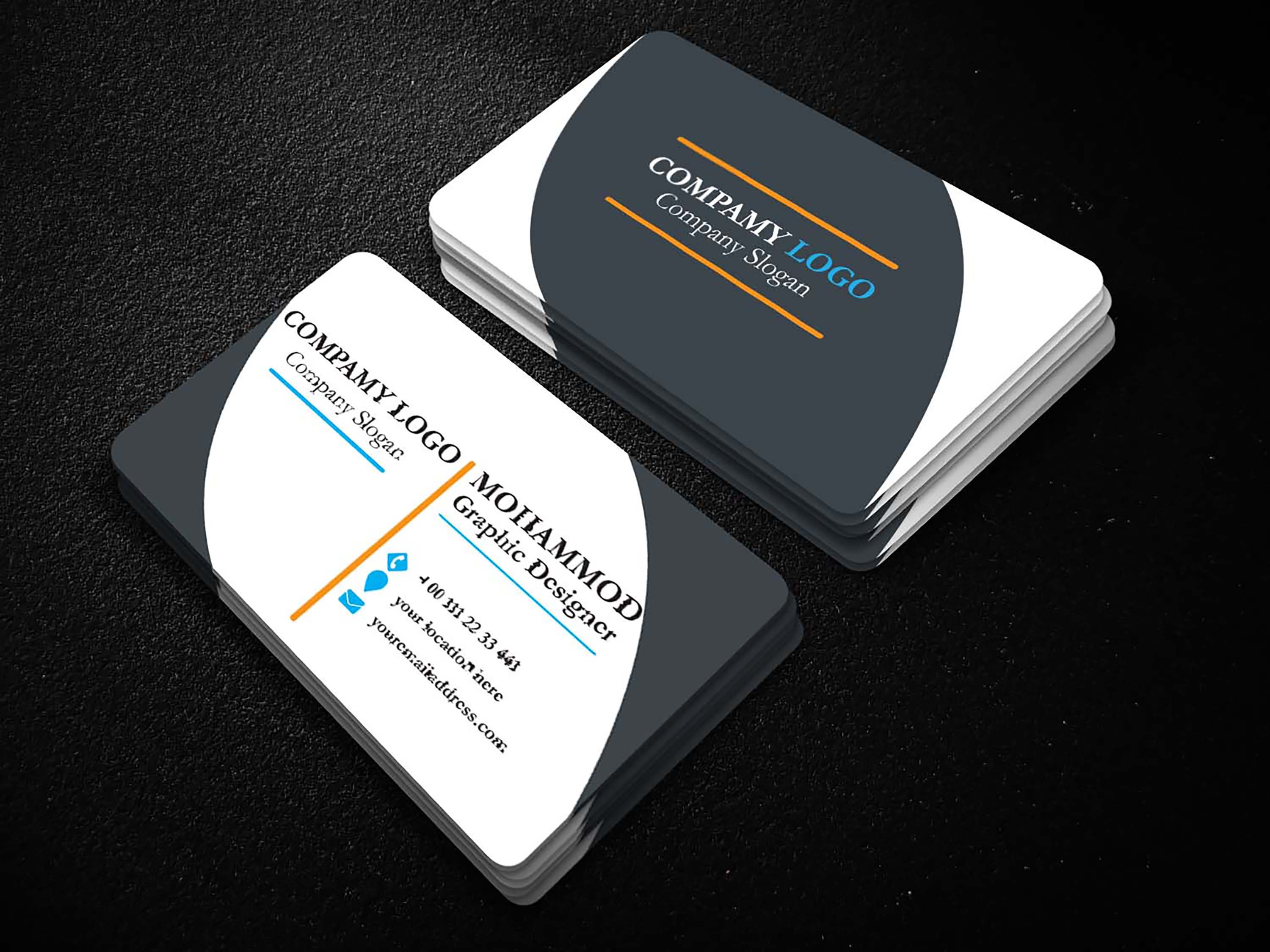 Provide You Professional Business card within 24 hours