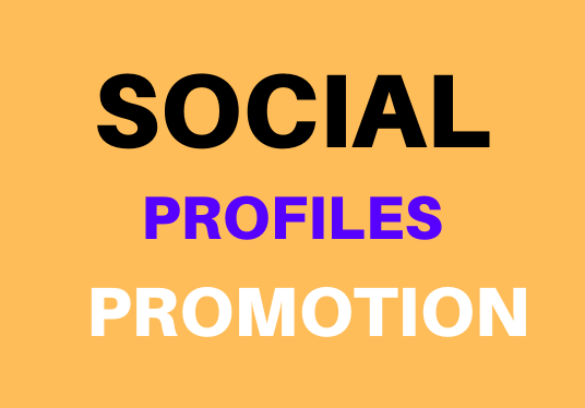 Genuine Social Media Profile And High Quality Promotion Fast Completed