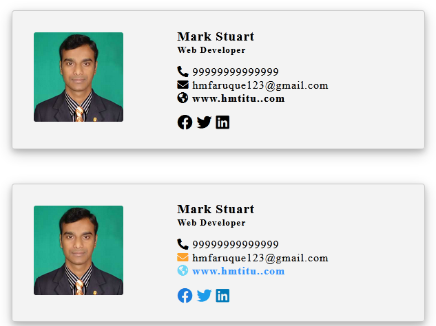I will create clickable editable html email signature