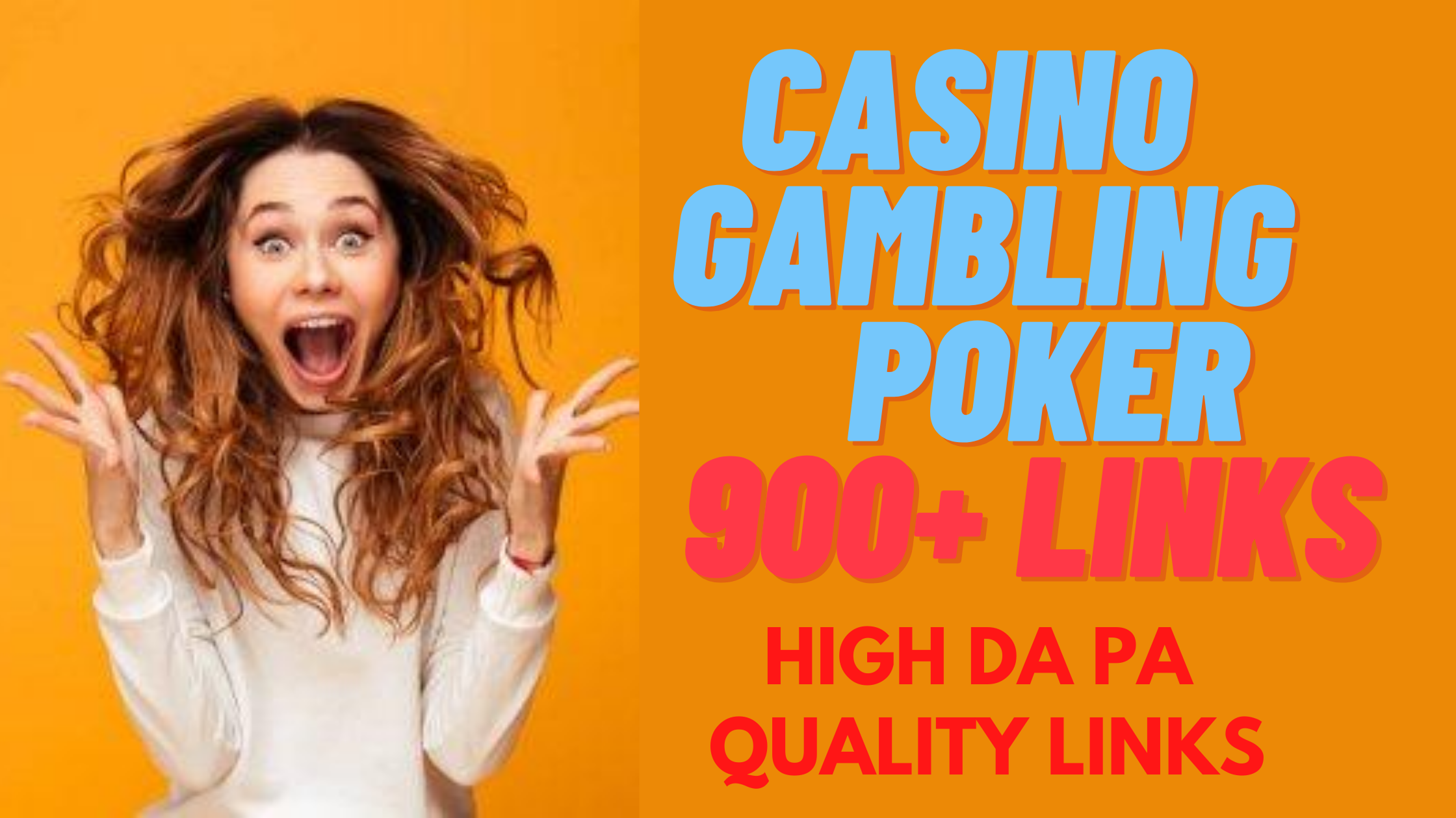 I Will Create ADULT, CASINO,  JUDI BOLA 800+ High DA PA Tire Backlinks to Boost Google Ranking Quickly