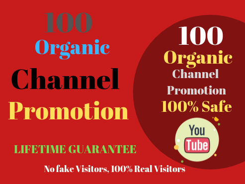High quality YouTube Chanel Promotion