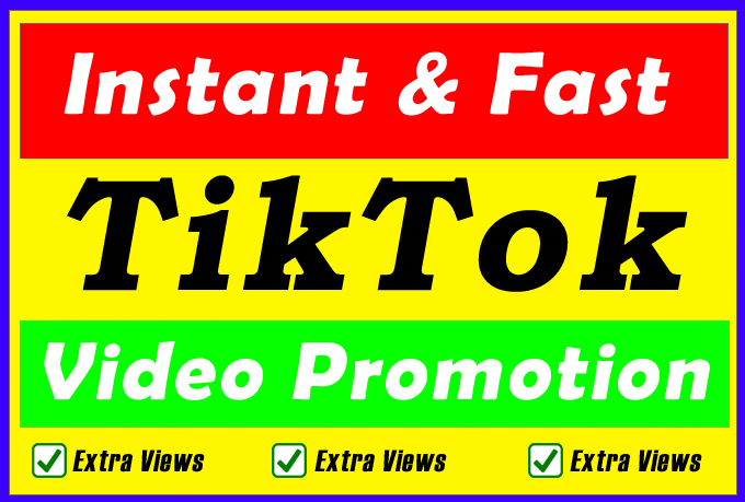 High Quality and Fast TikTok Video and Account Promotion Marketing Via Social Audience