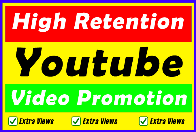Highest Retention Youtube Video Promotion For Improve Video Ranking in Search Results