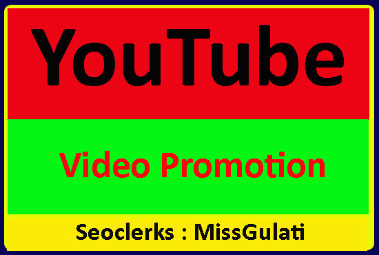 High Quality Youtube Video Marketing and Improve Ranking Promotion
