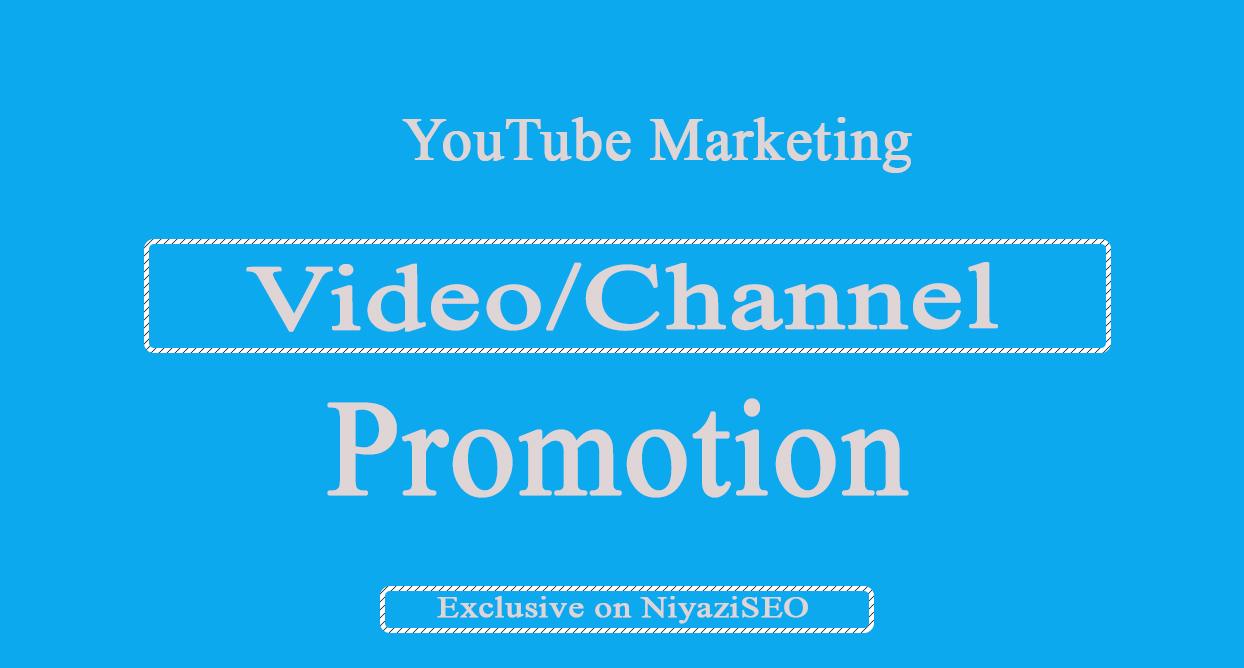 Supper Pack- YouTube Video Marketing Via Social Media Promotion