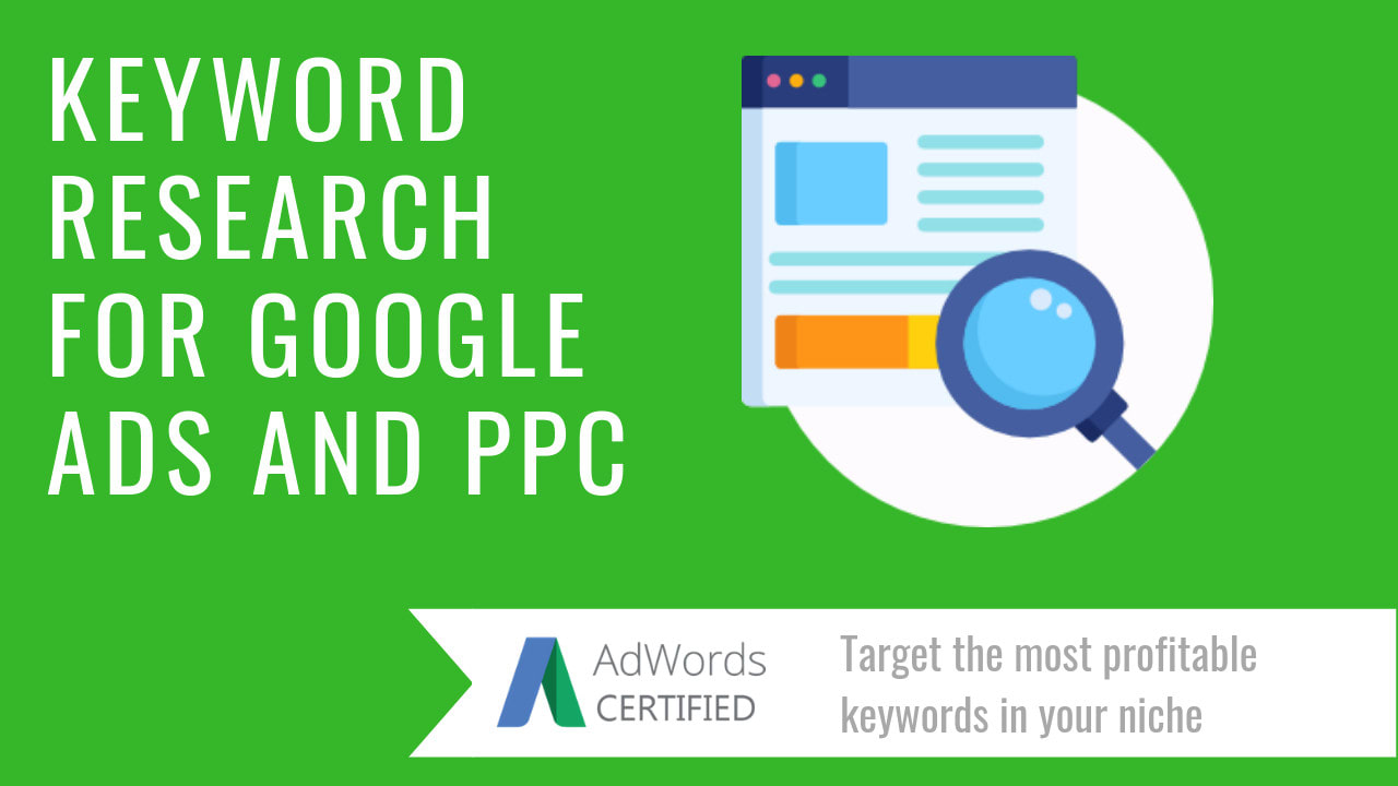 do keyword research for google adwords PPC campaign