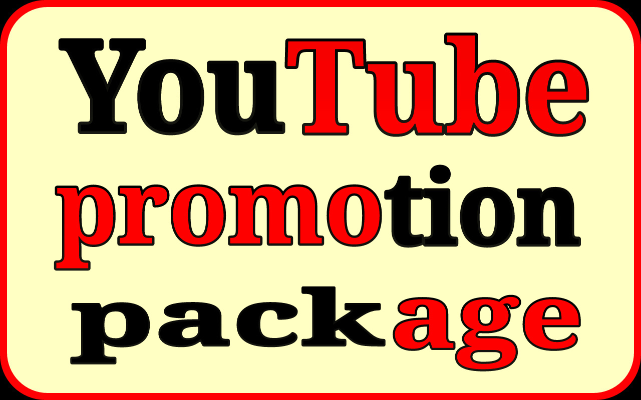 Seo for Youtube promotion via world wide real users and instant start your work