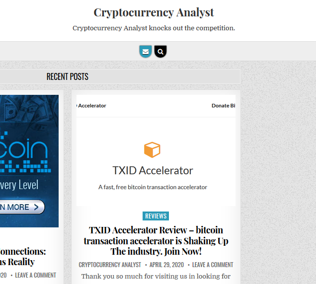 I will Write a Guest Article With a DoFollow Backlink on cryptocurrencyanalyst com