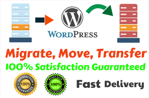 I will move,  migrate or transfer wordpress website in a 2 hours