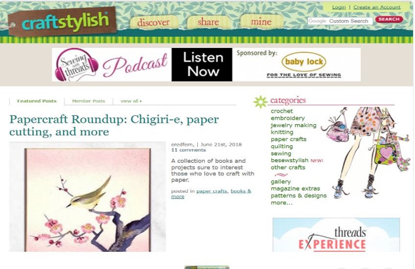 Write and Publish Guest Post On Lifestyle Blogs craftstylish.com