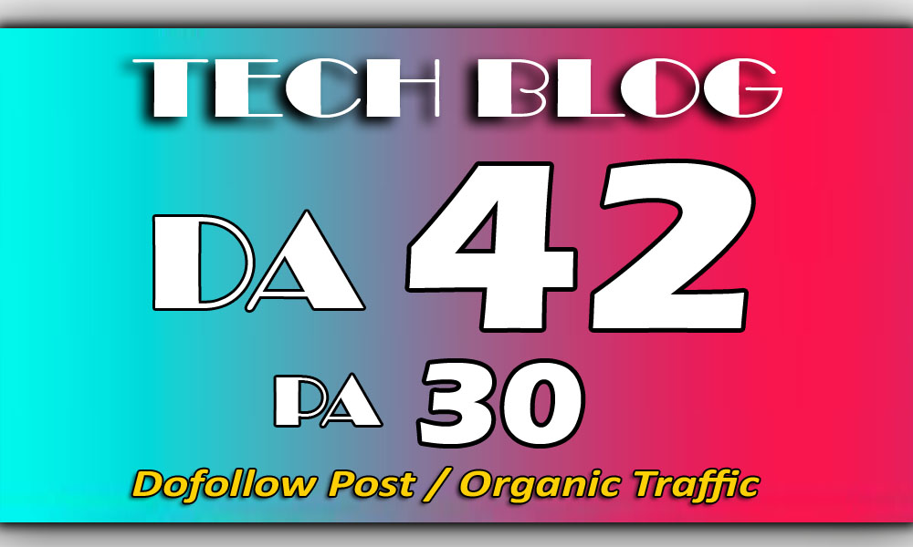 Guest Post on my TECH Blog DA-42 for $20