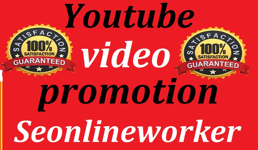 YouTube Organic All Package Video Promotions Social Media Marketing