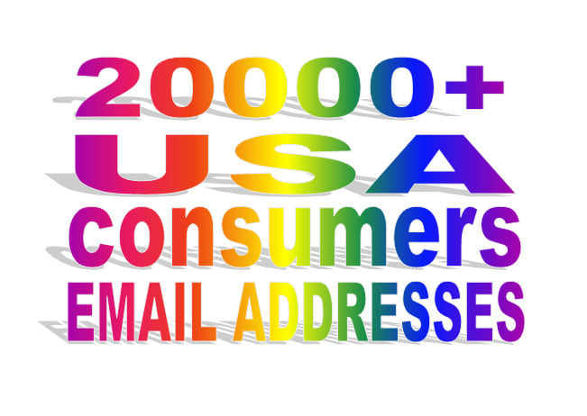 MEGA SELL OFFER give you 20k USA email addresses for marketing