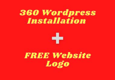 I will do WordPress installation, Plugin installation,  Theme setup,  Basic SEO and a free logo
