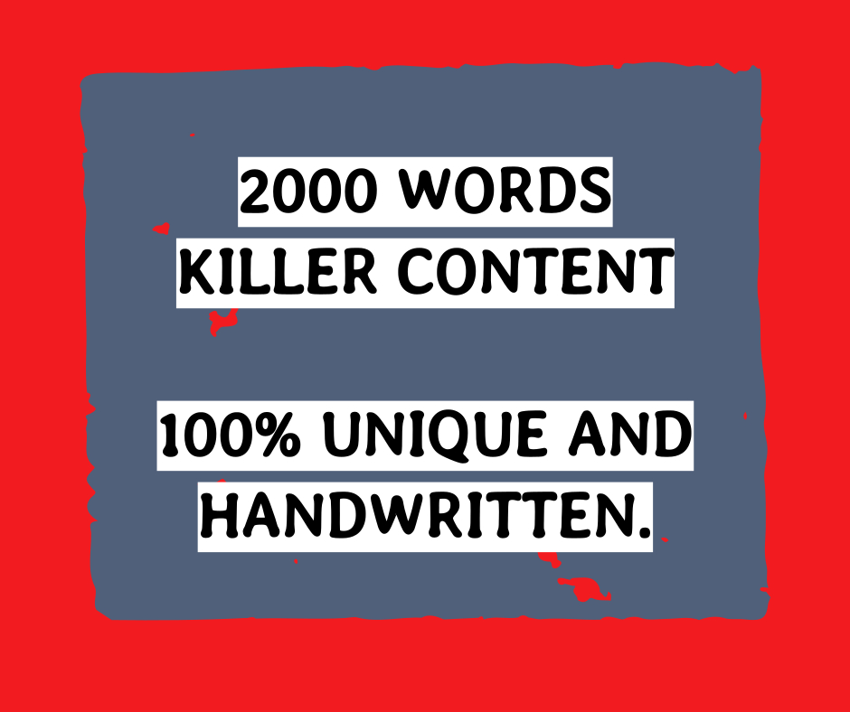 2000x words engaging researched article