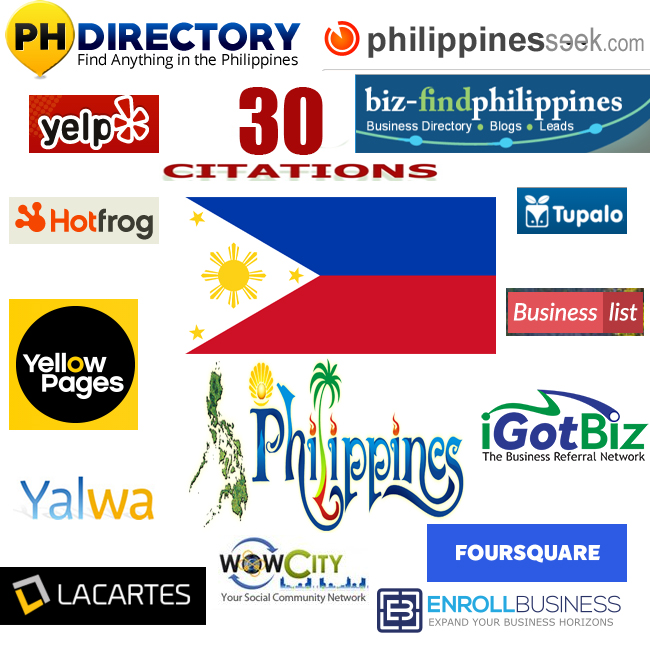 we will create 60 best philippines local citations