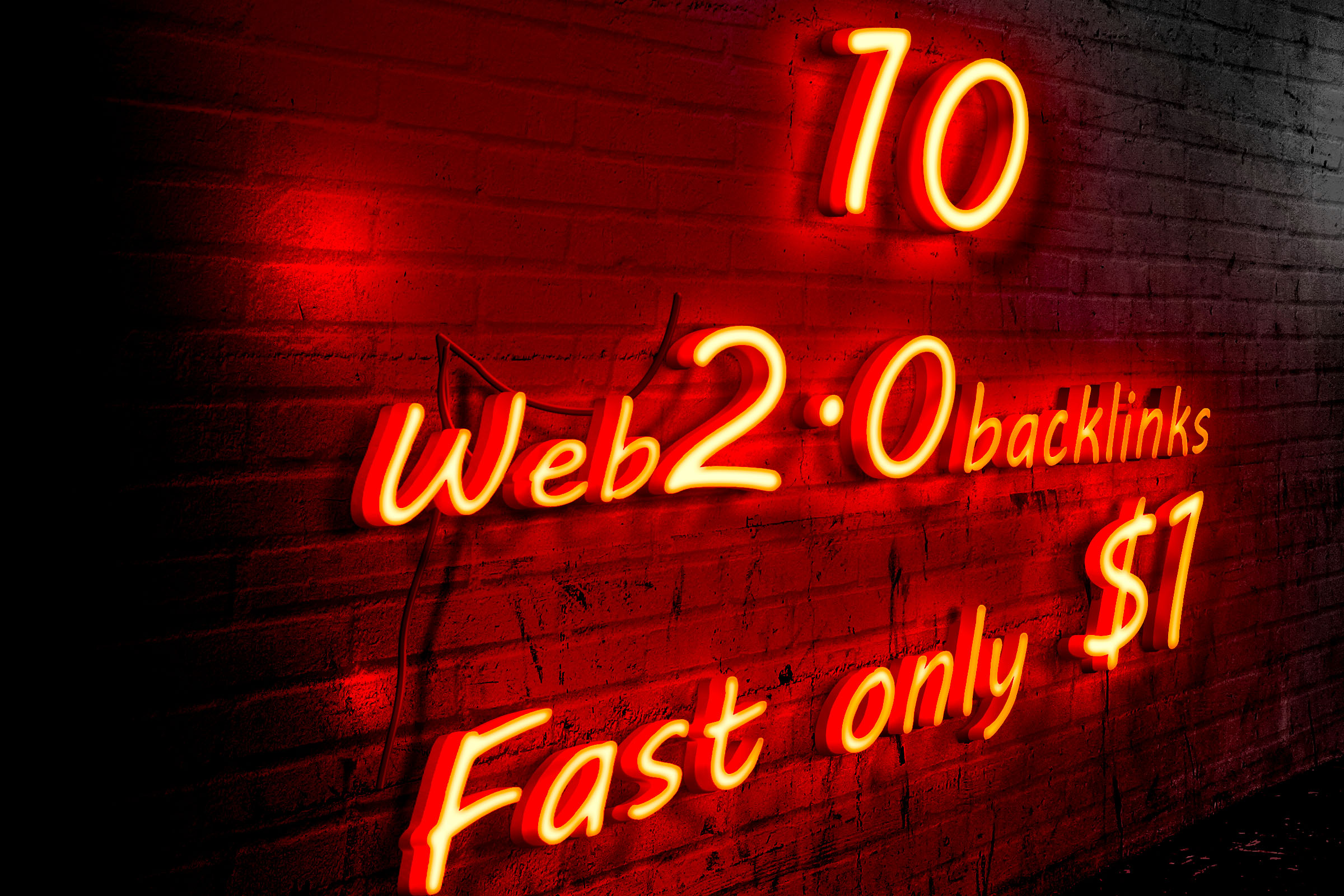 i will do 10 niche relevant web 2.0 backlinks fast