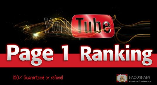 RANK YOUR VIDEOS TO PAGE 1 YOUTUBE the best rank ever