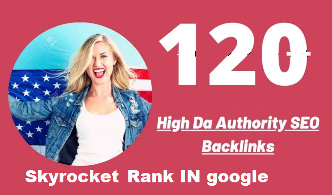 Do 120 High Authority permanent backlinks for youtube video and website Improving