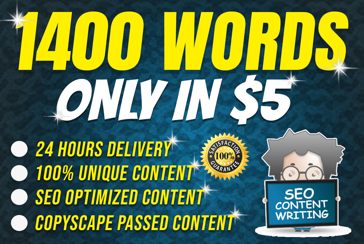 I will Your Website SEO Optimized Content Writer
