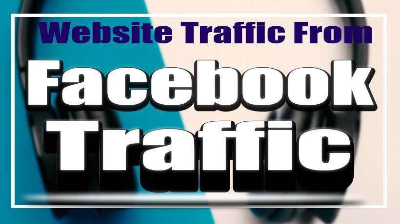 2.5k Website Traffic From Social Media Site
