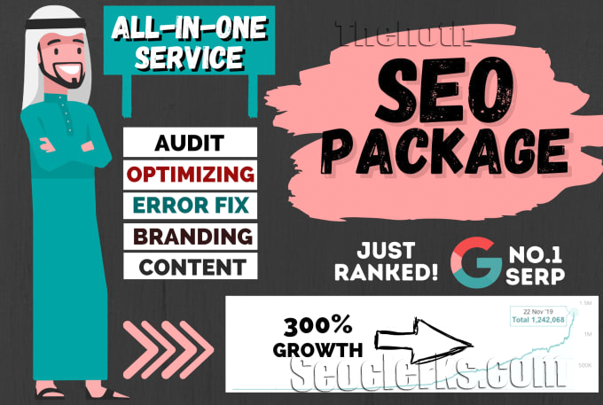 SEO website optimization service for google high ranking