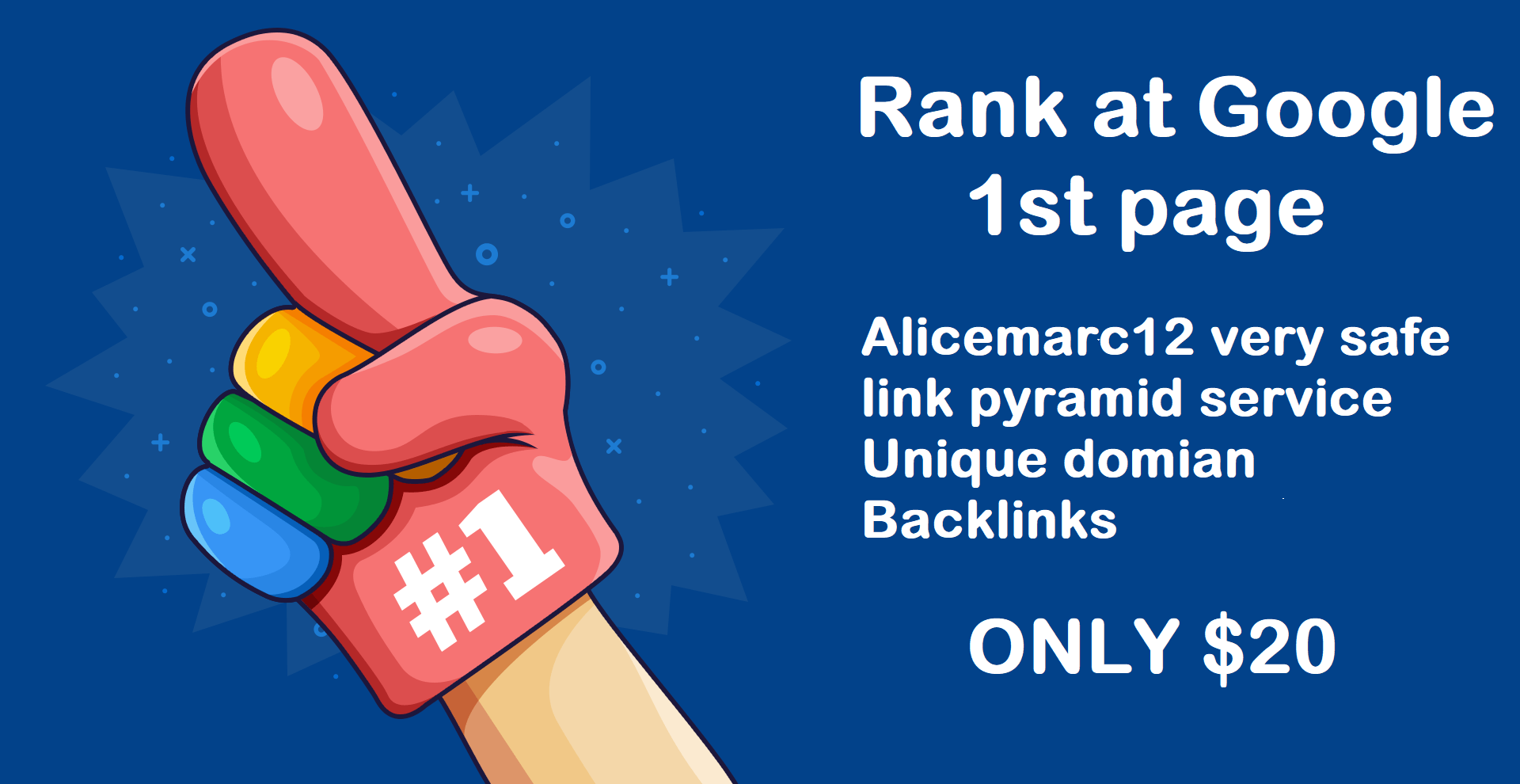 Rank at Google 1st page with Alicemarc12 very safe link pyramid service unique domain Links
