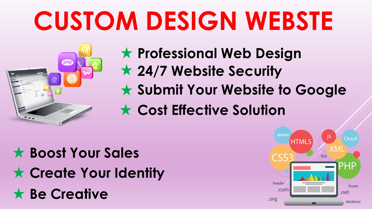 Create & Design Responsive WORDPRESS Website