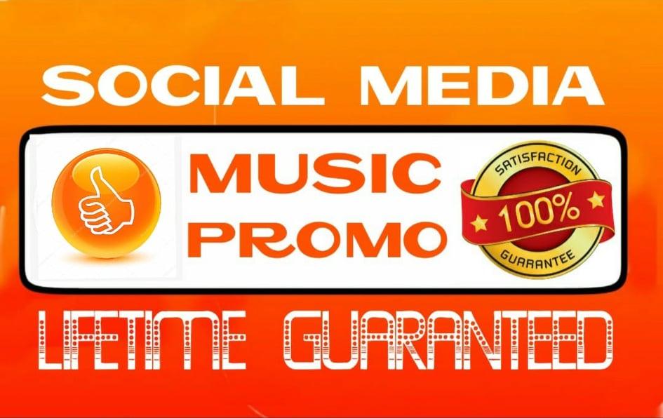 Do social media music promotion instantly