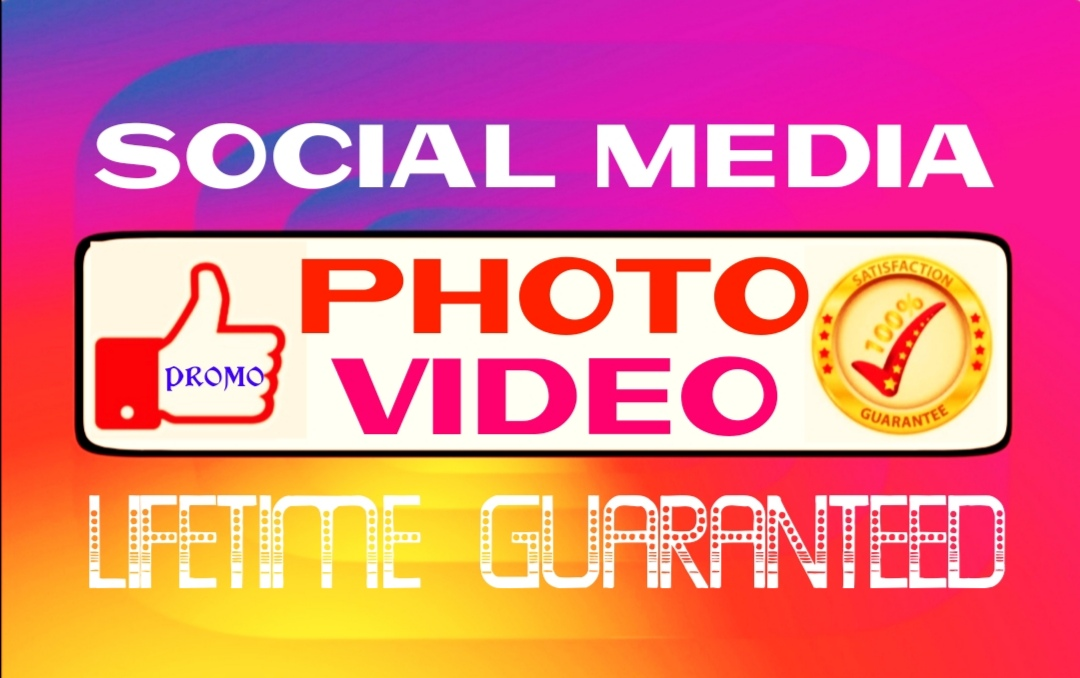 Add high quality social post or video promotion