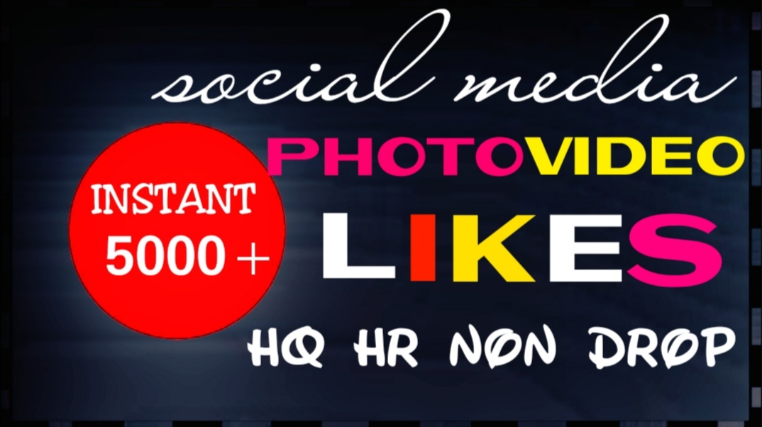 Provide Real Social super instant services for your Posts,  Photos and Videos