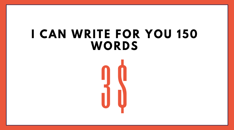 Write a 150 words about any subject