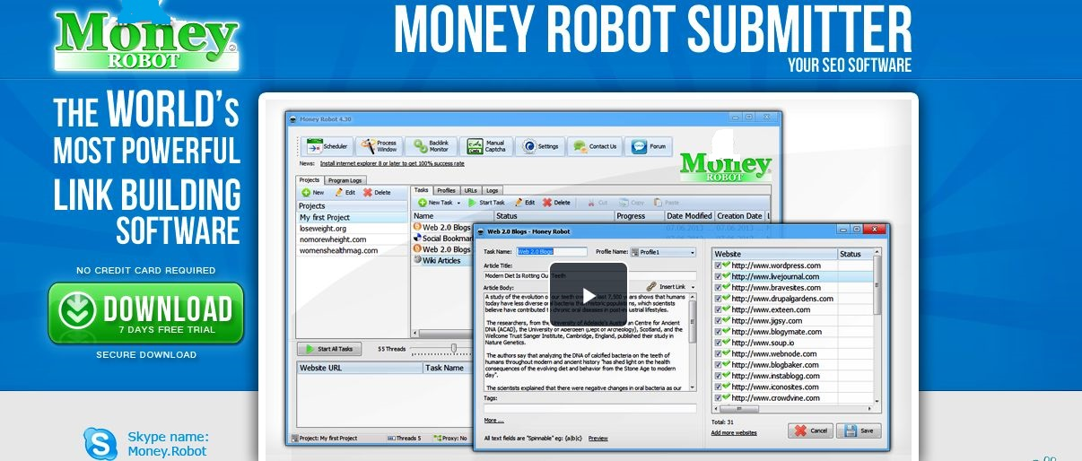 Rank your Website With Money Robot