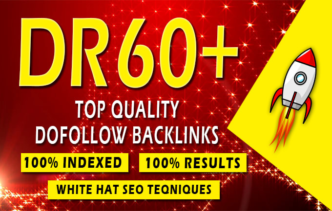 60+ High Authority Backlinks for Google Rankings