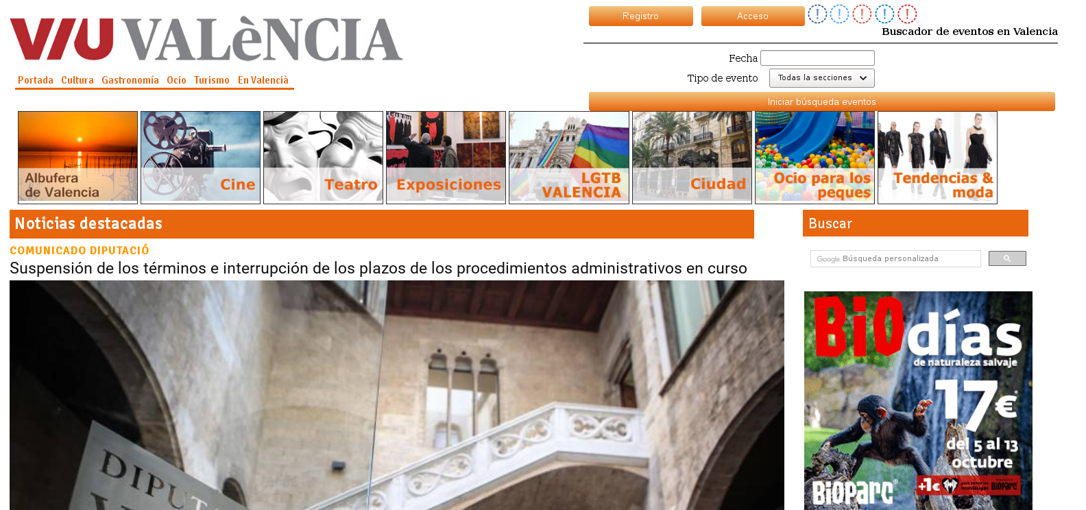Spanish Guest Post on Viu Valencia - Culutre Tourism Art newspaper